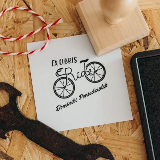 Stempel Ex Libris Ride