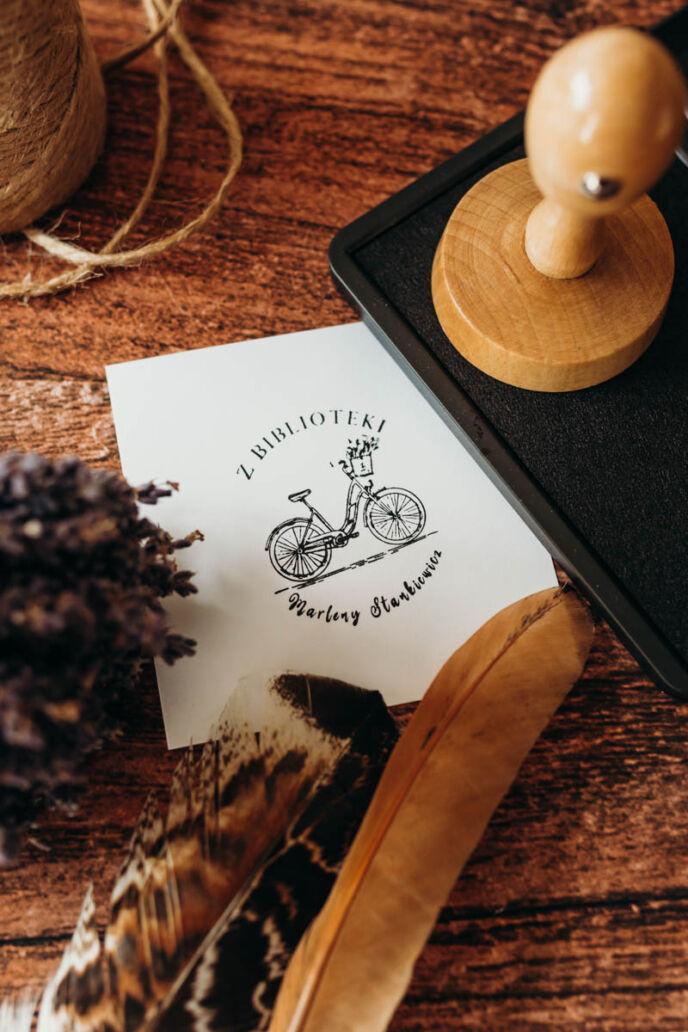 Stempel Ex Libris Rower