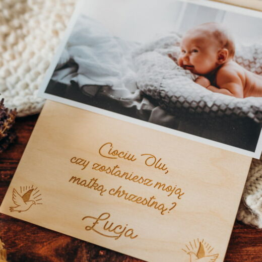 Tabliczka na zdjęcie Chrzest Święty