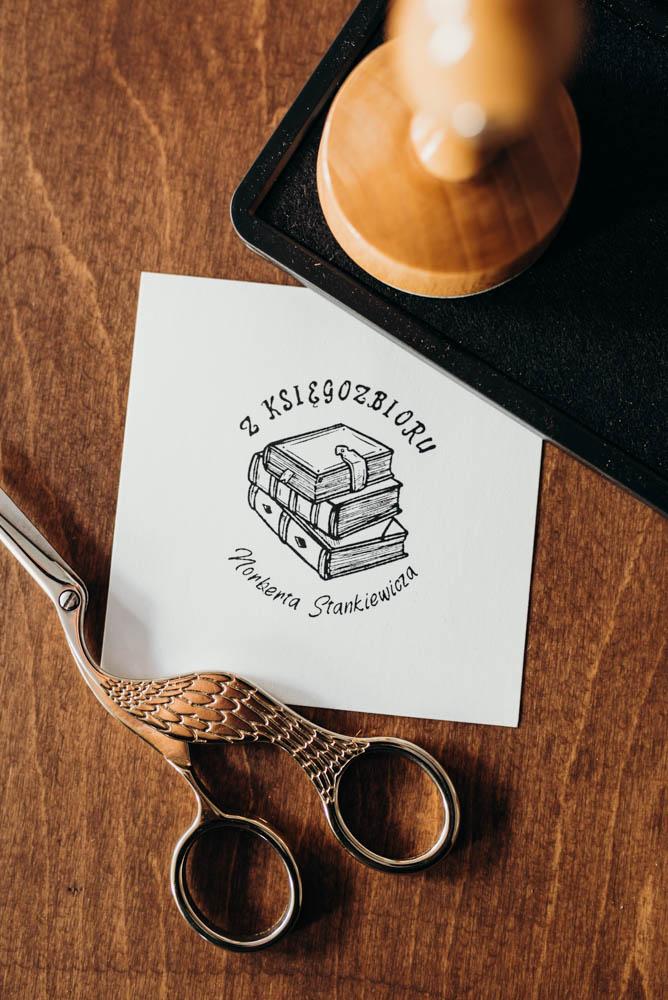Stempel ex libris Książki