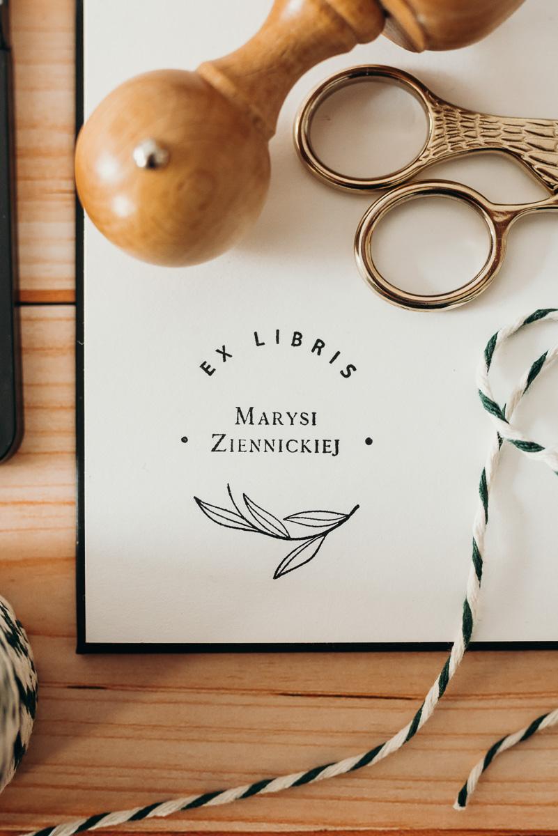 "Pieczątka ex libris ""Mary"""